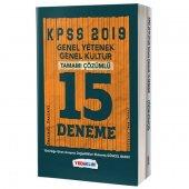 2019 Kpss Genel Yetenek Genel Kültür Tamamı Çözümlü 15 Fasikül Deneme Yediiklim Yayınları
