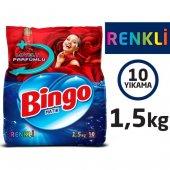 Bingo Renkli Toz Çamaşır Deterjanı 1,5 Kg
