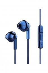 Baseus Times Think Encok H03 Serisi 3.5mm Kulakiçi Kulaklık Mavi