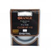 Orange 52mm Close UP +10 Filtre