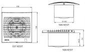 Aircol 100 Fanlı Menfez 55x60-4