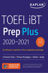 2020 2021 Toefl İbt Prep Plus Kaplan Publishing