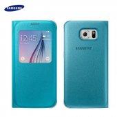Samsung Galaxy S6 Orjinal S View Cover Ef Cg920plegww