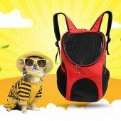 Açık Çift Omuz Köpek Çanta Sırt Çantası Pet Köpek Kedi