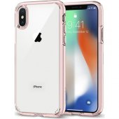 Spigen Apple İphone X Kılıf Ultra Hybrid Rose Crystal 057cs2212