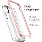 Spigen Apple iPhone X Kılıf Neo Hybrid Crystal Blush Gold - 057CS-5