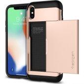 Spigen Apple İphone X Kılıf Slim Armor Cs Blush Gold 057cs22157