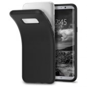 Spigen Samsung Galaxy S8 Plus Kılıf Liquid Crystal Matte Black -