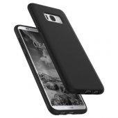 Spigen Samsung Galaxy S8 Plus Kılıf Liquid Crystal Matte Black - -3