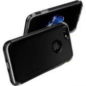 Spigen Apple iPhone 7 Kılıf Hybrid Armor Black 042CS20841-4
