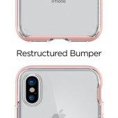 Spigen Apple iPhone X Kılıf Neo Hybrid Crystal Blush Gold - 057CS-3