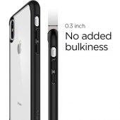 Spigen Apple iPhone X Kılıf Ultra Hybrid Black - 057CS22129-4