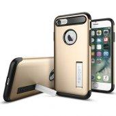 Spigen Apple iPhone 8 - iPhone 7 Kılıf Slim Armor Champagne Gold