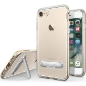 Spigen Apple İphone 8 İphone 7 Kılıf Crystal Hybrid Champagne G