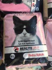 Real Cat Doğal Pudra Kokulu Kedi Kumu 10l
