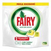 Fairy Hepsi Bir Arada Bulaşık Makinesi Deterjanı 120 Yıkama