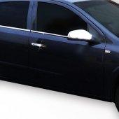 Spider Opel Astra H(04) Krom Cam Çıtası 4 Prç Sd