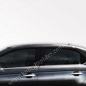 Spider Peugeot 301(2013) Krom Cam Çıtası 6 Prç