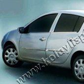 Spider Renault Clio3(05 12) Krom Cam Çıtası 4 Prç