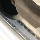 Spider Volkswagen Caddy(03 10) Krom İç Kapı Eşiği 4 Prç