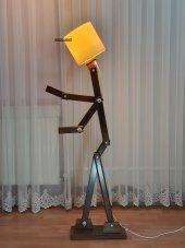 Woodlight Adam (Akıllı) Lambader Ceviz