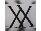 X Tarz Metal Ayak Seti