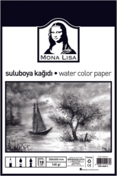 Monalisa Suluboya Kağıdı 350x500 Mm 160 Gr 10 Lu Paket