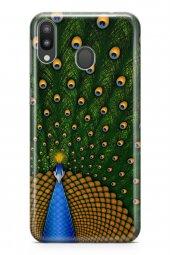 Samsung Galaxy M20 Kılıf Silikon Arka Kapak Koruyucu Tavuz Kuşu D