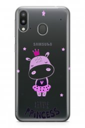 Samsung Galaxy M20 Kılıf Silikon Arka Kapak Koruyucu Tek Küçük Pr