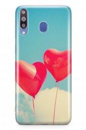 Samsung Galaxy M30 Kılıf Silikon Arka Kapak Koruyucu Balon Rüyala