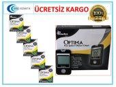 Optima Kan Sekeri Ölçüm Cihazı + 5 Kutu Strip 250 Adet