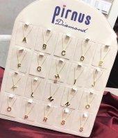 Pirnus Diamond Altın Kolye 14 Ayar 1,95 Gram