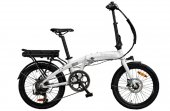 Benelli Zero N2.0 Disc Elektrikli Katlanır Bisiklet Beyaz
