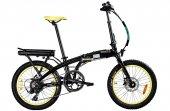 Benelli Zero N2.0 Fat Elektrikli Katlanır Bisiklet Siyah Sarı