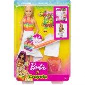 Barbie Crayola Mevyeli Tasarım Bebeği