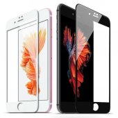Apple İphone 6s Plus 5d Tam Kaplayan Ekran Koruyucu Kırılmaz Cam