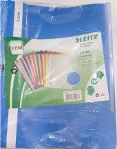 Leitz Telli Dosya Plastik Açık Mavi L-4189, 50 Adet