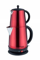 Awox Demplus Çay Makinesi Kırmızı