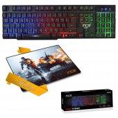 ınca Ikg 446 Mekanik Hisli Oyuncu Klavye+mouse...