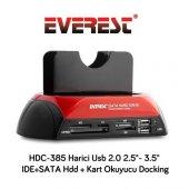 Everest Hdc 385 Usb 2.0 2.5 3.5 Hdd Docking