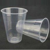 Plastik Şeffaf Bardak 180 Cc 100 Adetli