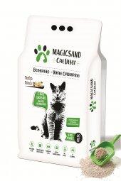 Magicsand Cat Litter Vanilya kokulu Kedi Kumu 20 lt İnce Taneli