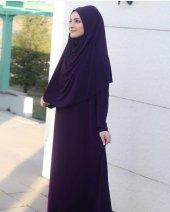 9046 K10 Mor Namaz Hac Umre Elbisesi