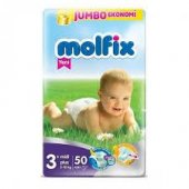 Molfix Ekonomik Paket No 3+ Midi Plus 5 10 50...