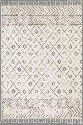Flora Otantik 2593Aby Beyaz Renk Halı-4