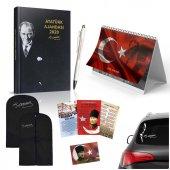 2020 Atatürk Ajandası, Takvim, Kalem, Poster, Elbise Kılıfı, Oto Sticker Yeni Yıl Hediye Set