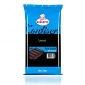 Ovalette Bitter Eko Kuvertür Kokolin Çikolata 2.5 Kg