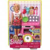 Barbie Mutfakta Oyun Seti