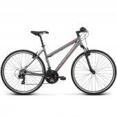 Kross Evado 1.0 Bisiklet Gri Kırmızı