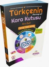 İnformal 2020 Dgs Türkçenin (PARAGRAF) Karakutusu Soru Bankası